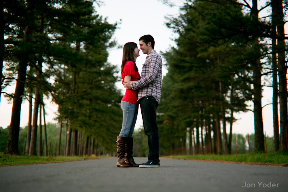 searcy ar engagement photographer