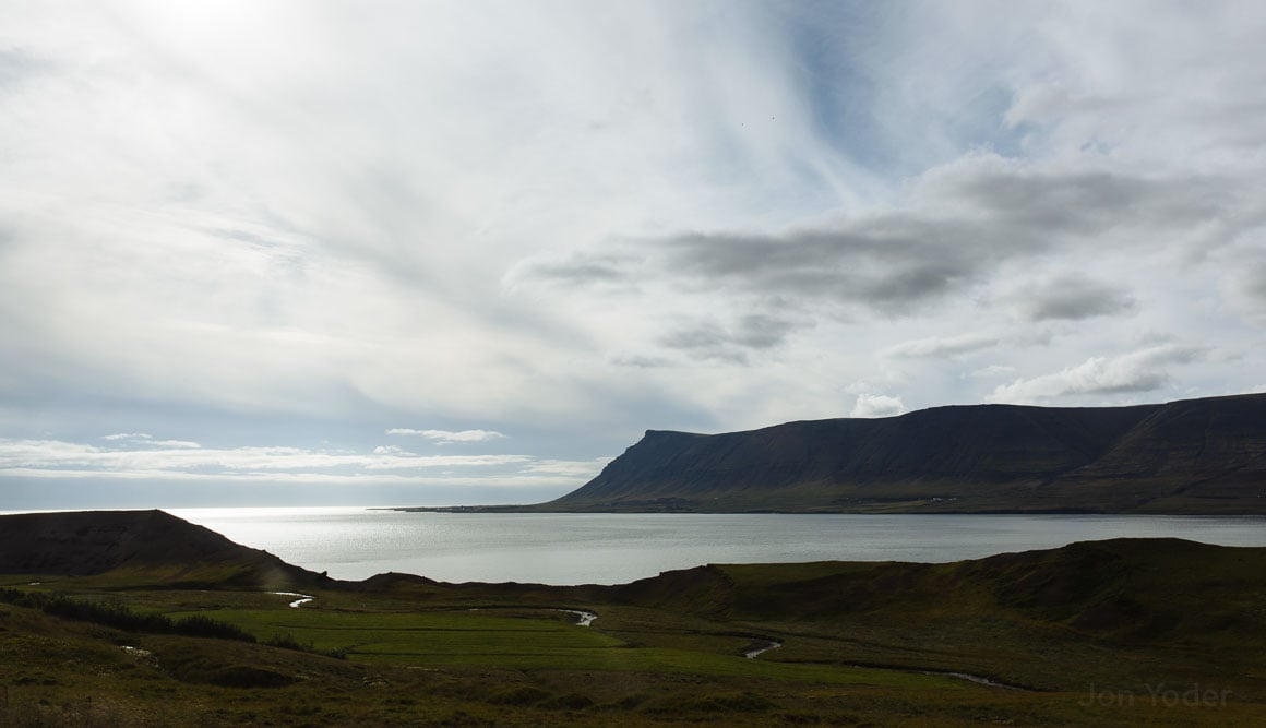 iceland water scenic overlook